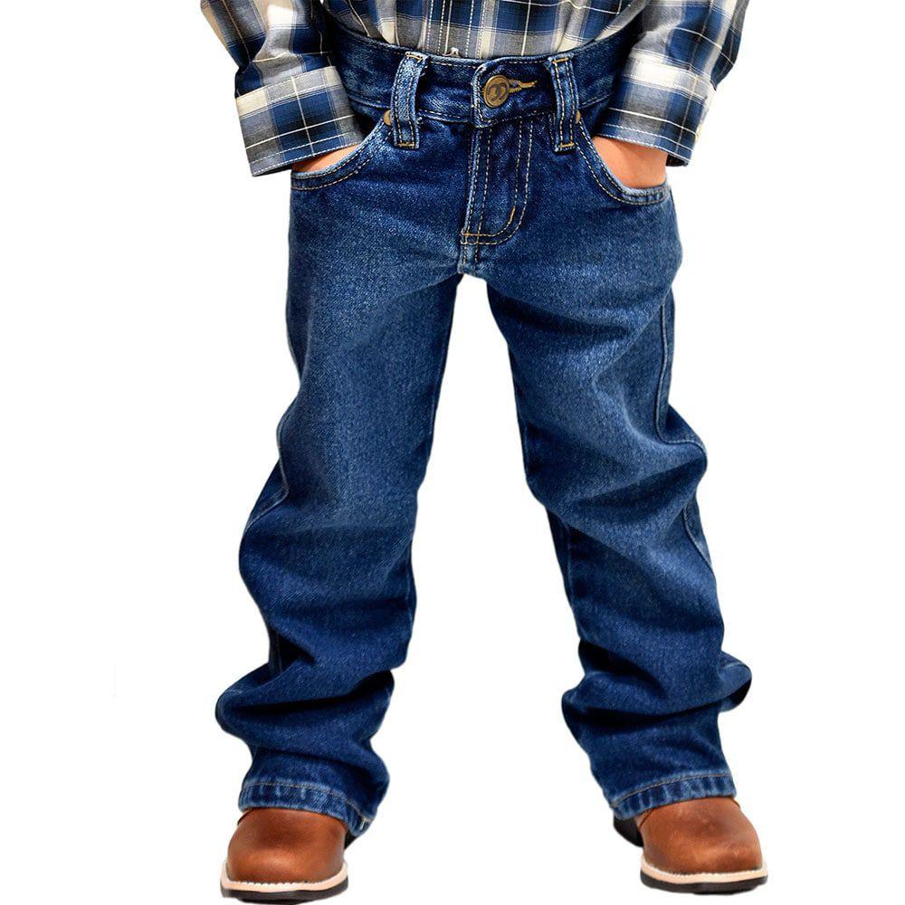Calça Infantil Cowboys Jeans Lavado