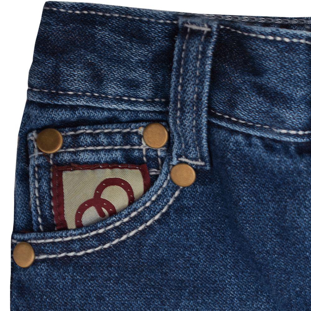 Calça Infantil Cowboys Jeans Stonada