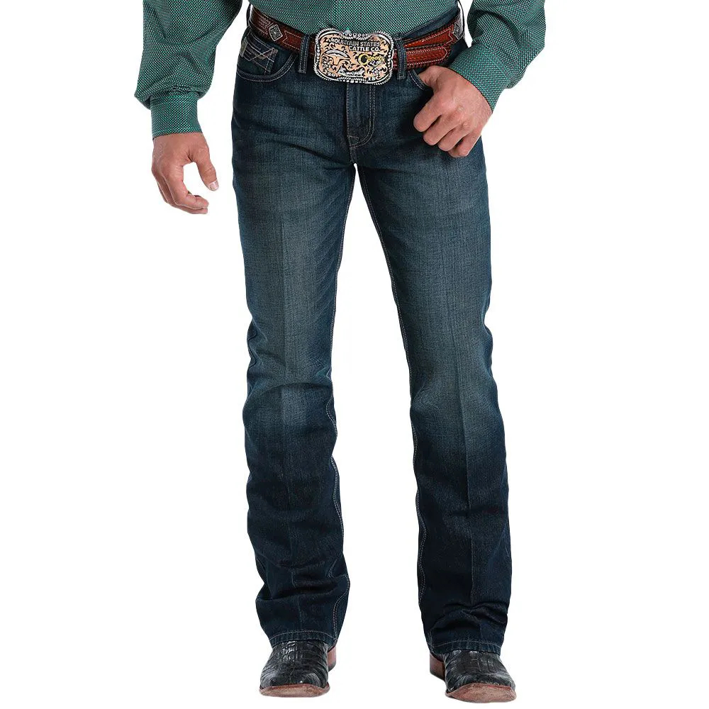 Calça Jeans Cinch Ian Slim Fit Stonado Escuro