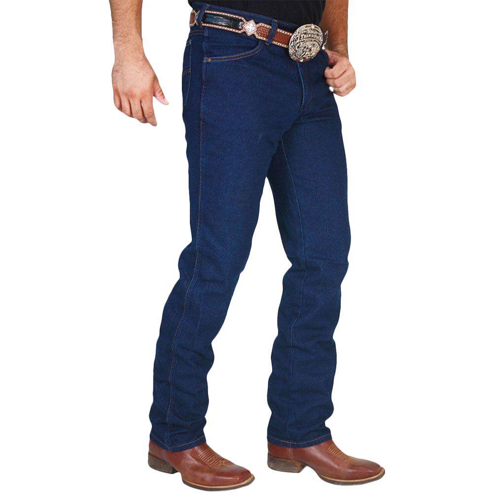 Calça Jeans Classic Cintura Média Corte Tradicional