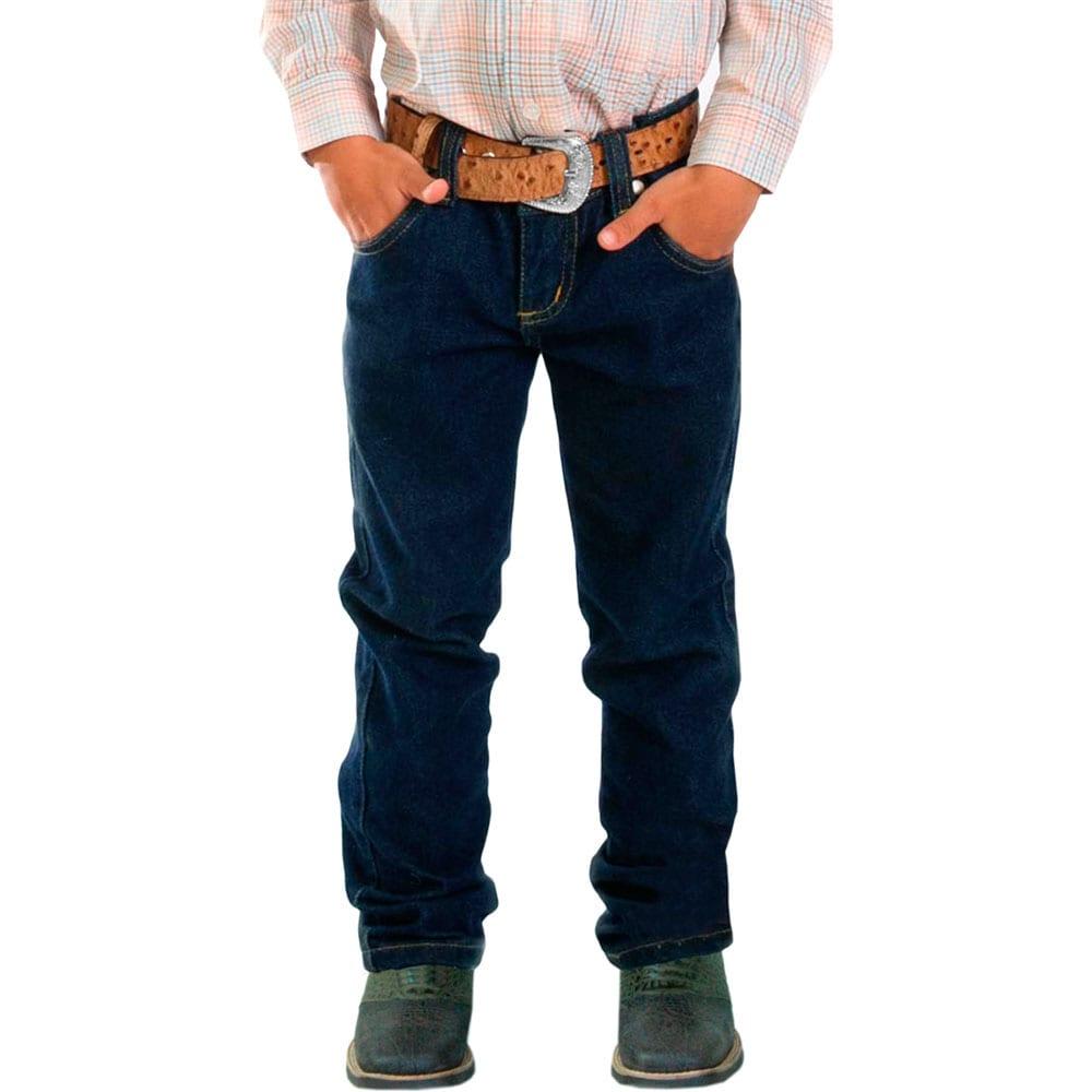 Calça Jeans Lavado Juvenil Classic