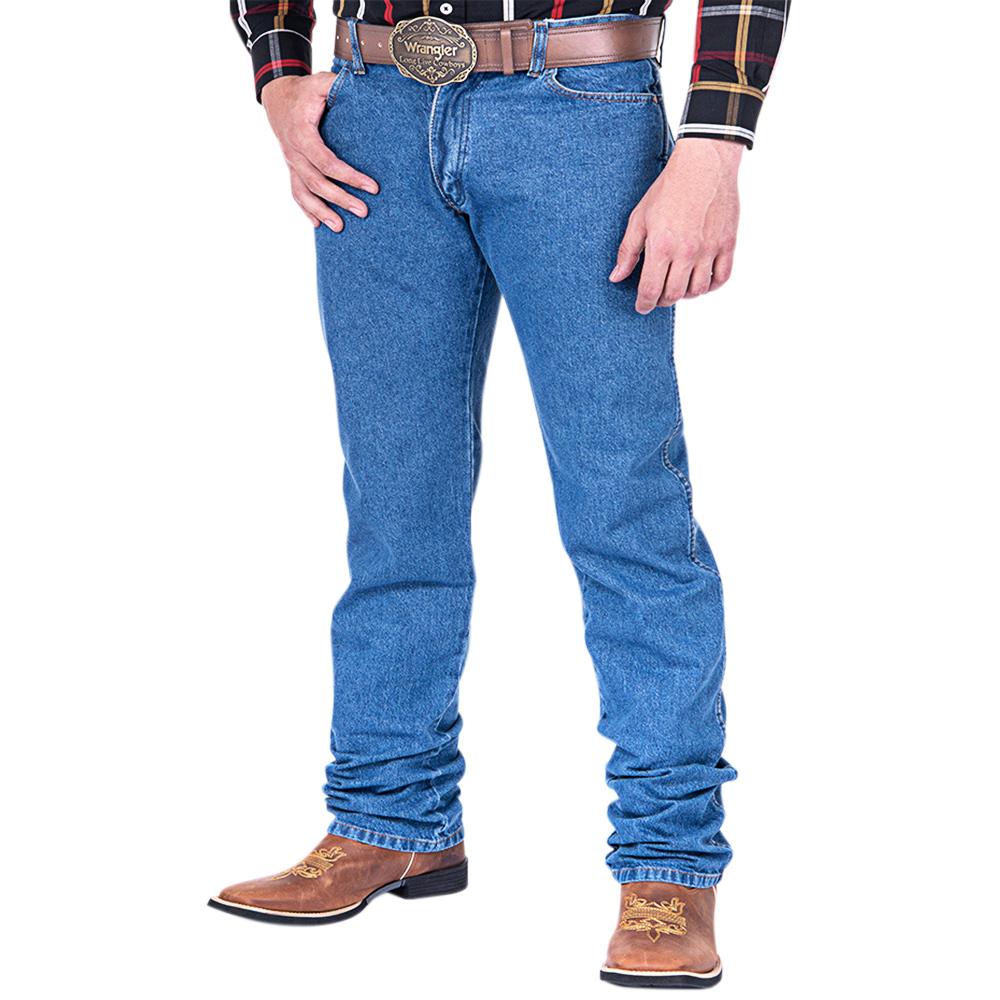 Calça Jeans Wrangler Cowboy Cut Original Fit Estonada Big