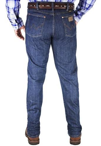 Calça Wrangler Cowboy Cut Original Fit Azul