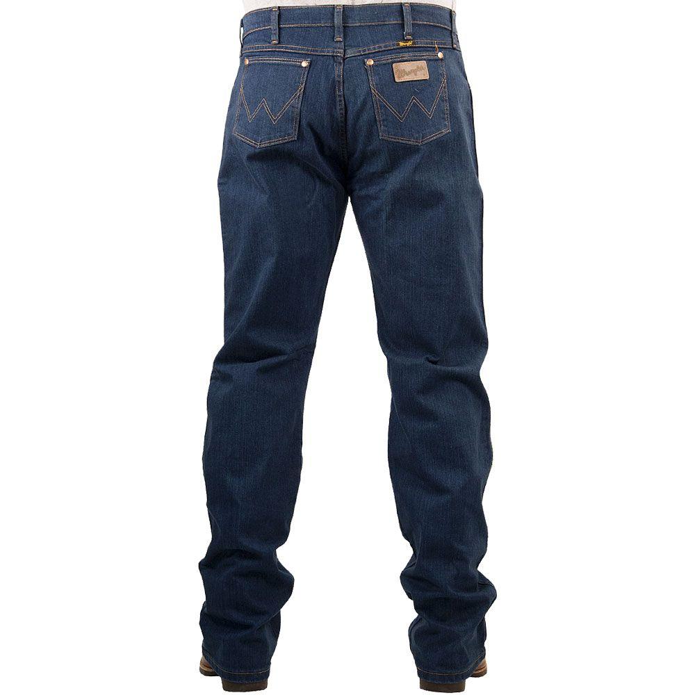 Calça Jeans Wrangler Original Fit Azul