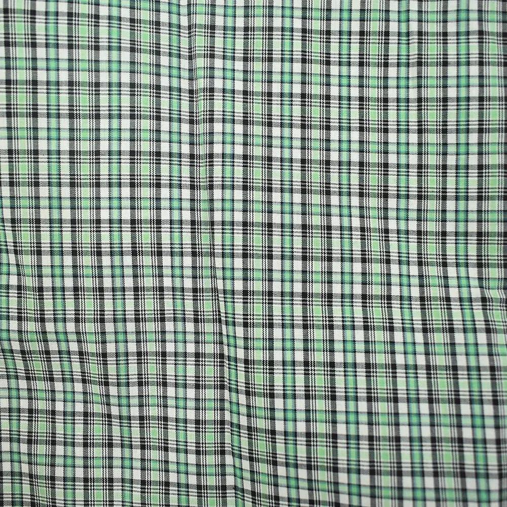 Camisa Cowboys Manga Curta Xadrez Verde