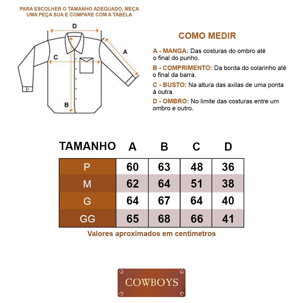 Camisa Feminina Cowboys Manga Longa Tie Dye Bege