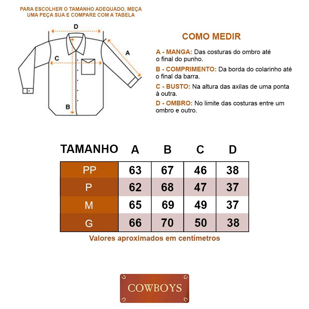Camisa Feminina Lisa Laranja com Strass Manga Longa