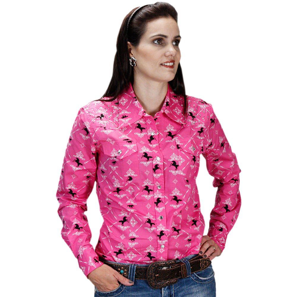 Camisa Feminina Pink Mother