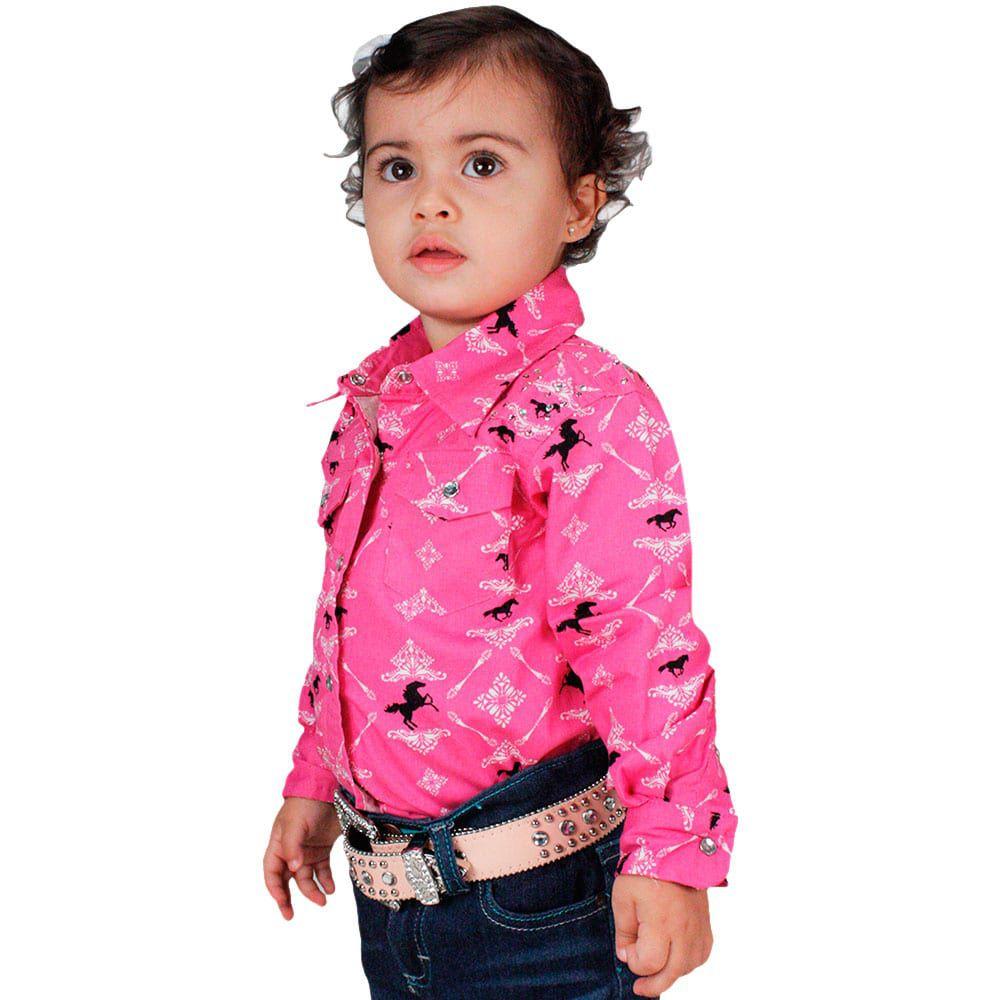Camisa Infantil Pink Daughter