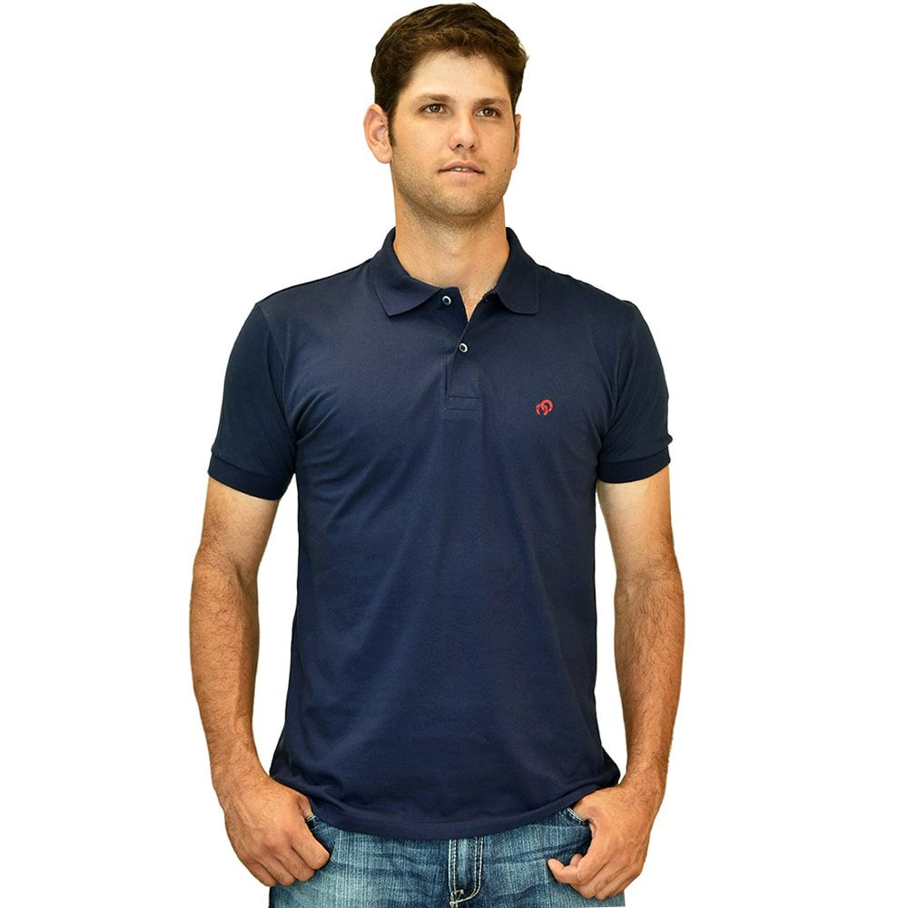 Camisa Polo Cowboys Azul