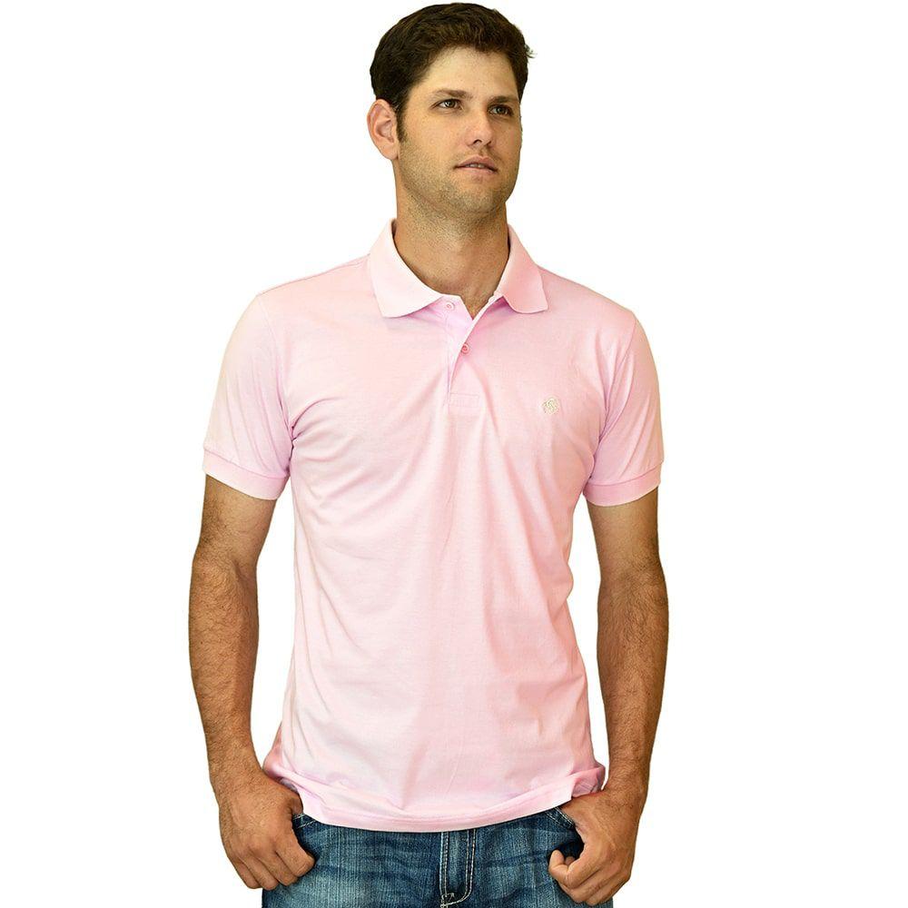 Camisa Polo Cowboys Rosa - Cowboys ... 36b76489875c1