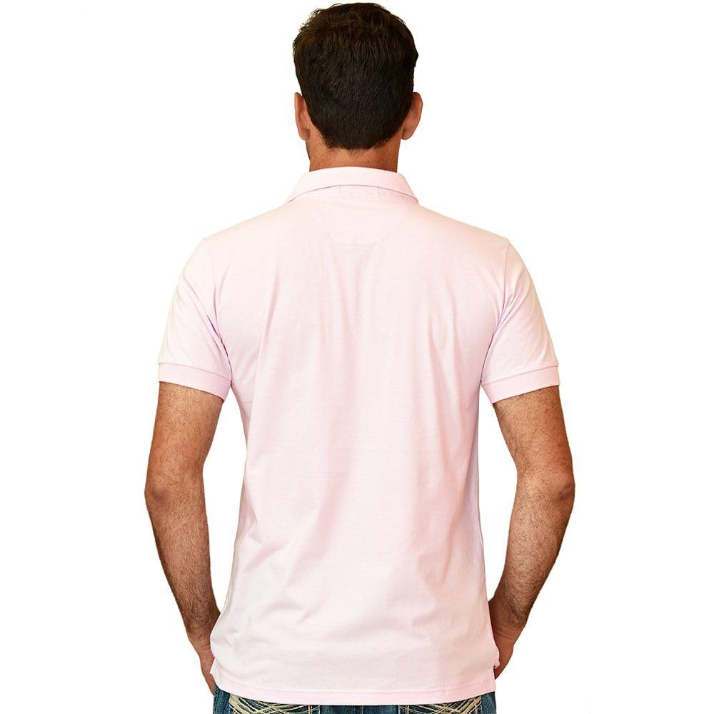 ... Camisa Polo Cowboys Rosa - Cowboys 786286260bc24
