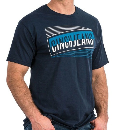 Camiseta Cinch Azul Marinho Cinch Jeans