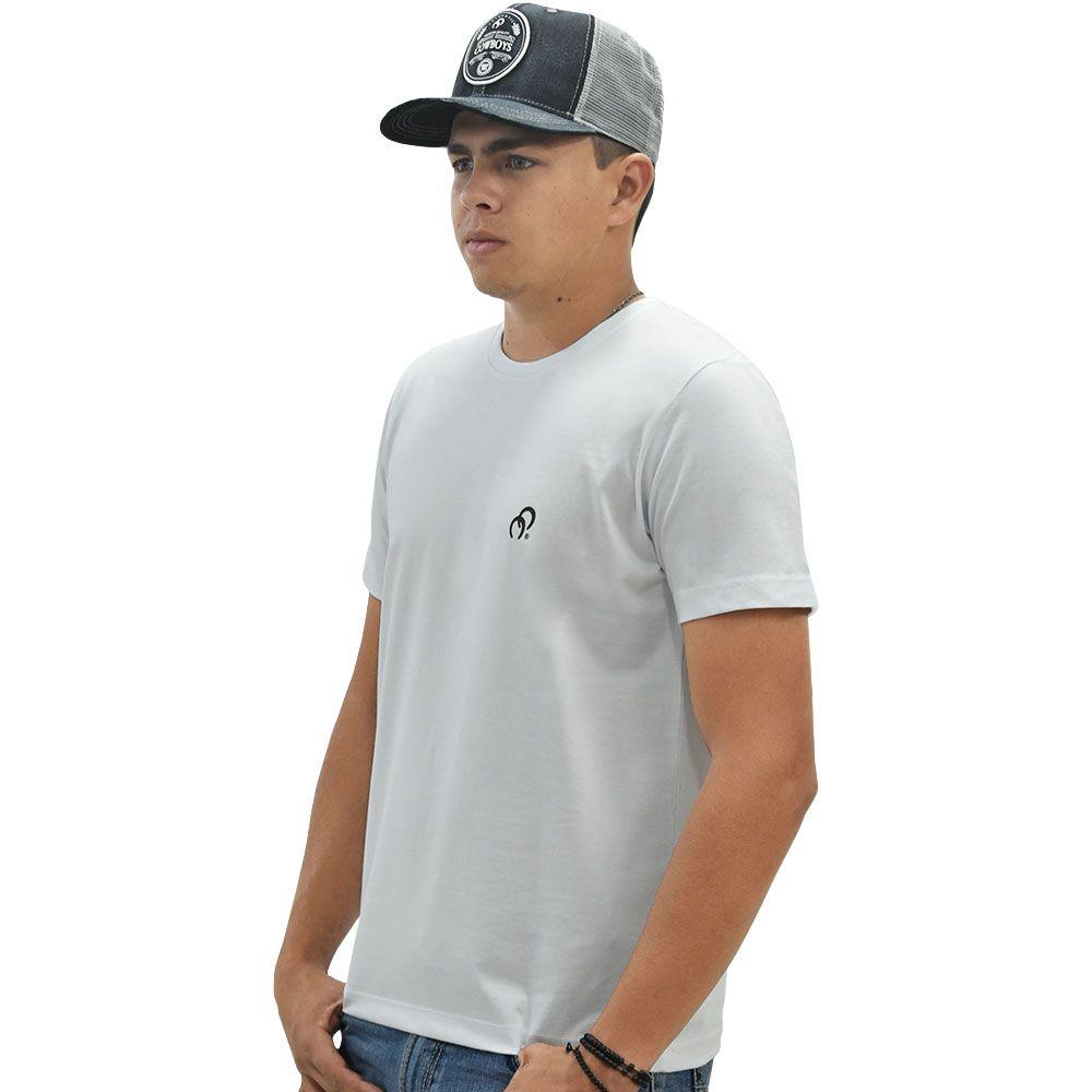Camiseta Cowboys Branca Mundo Country