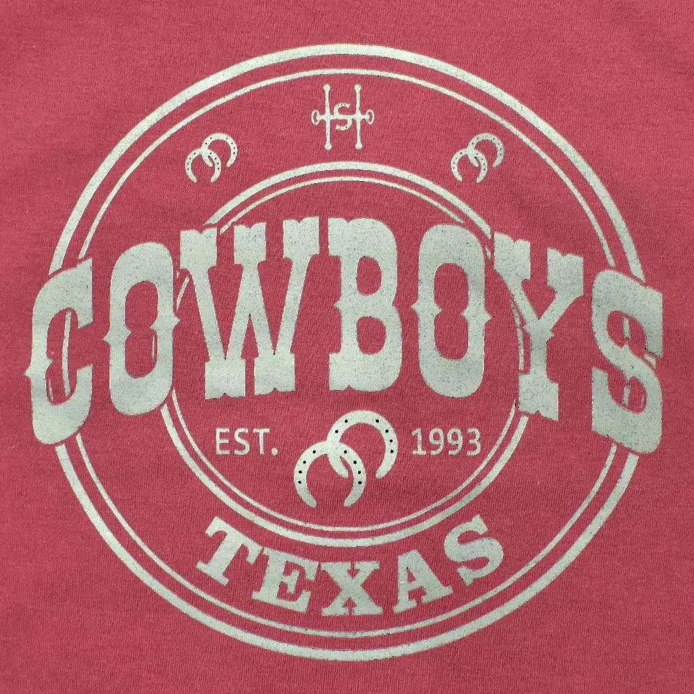 Camiseta Cowboys Texas 1993 Vinho