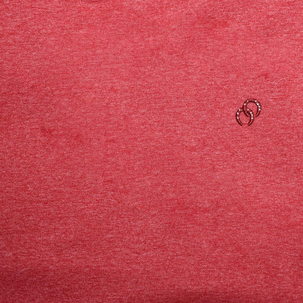 Camiseta Masculina Pai e Filho Cowboys Vermelha Mescla Bordado Ferraduras