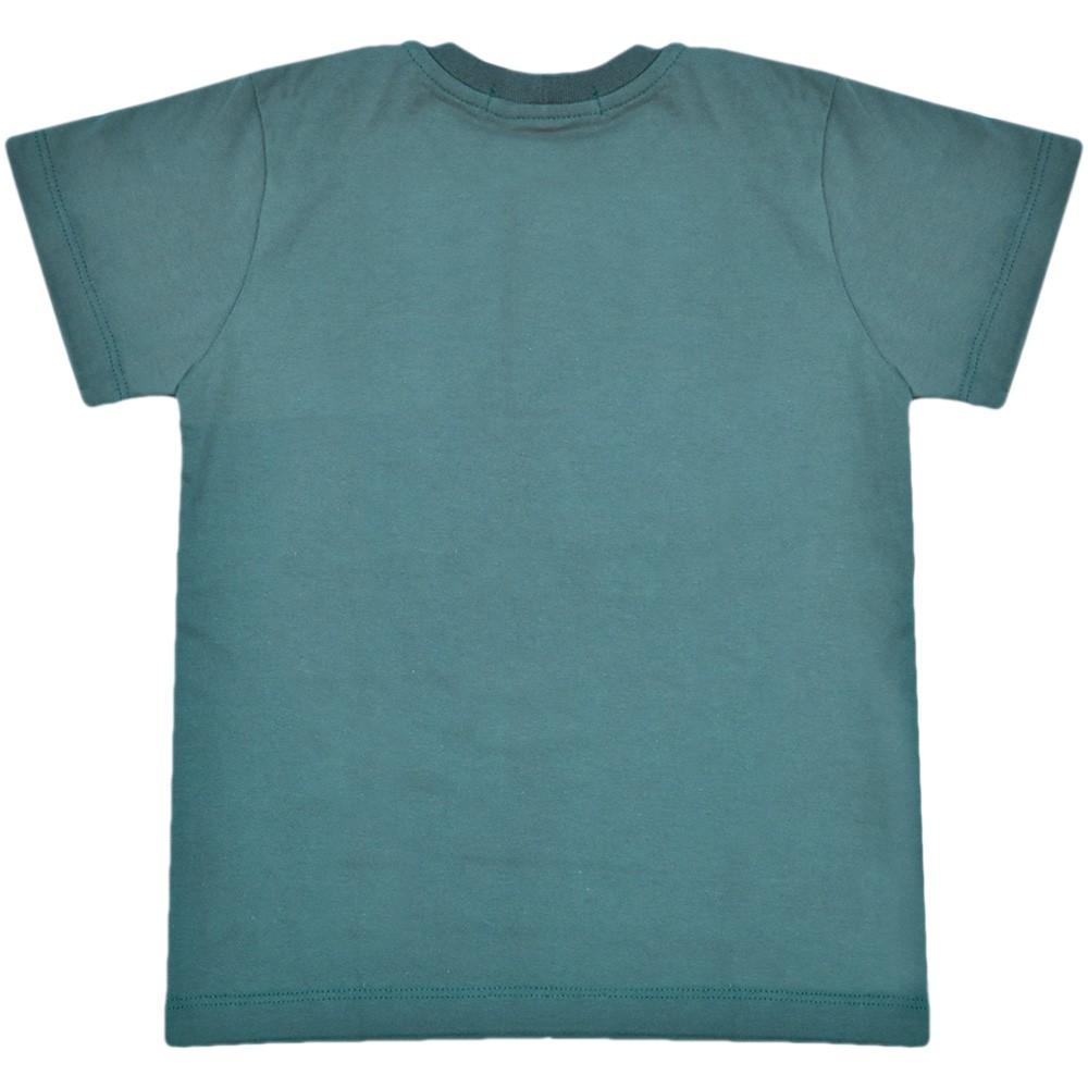 Camiseta Infantil Cowboys Azul Cavalo e Frases
