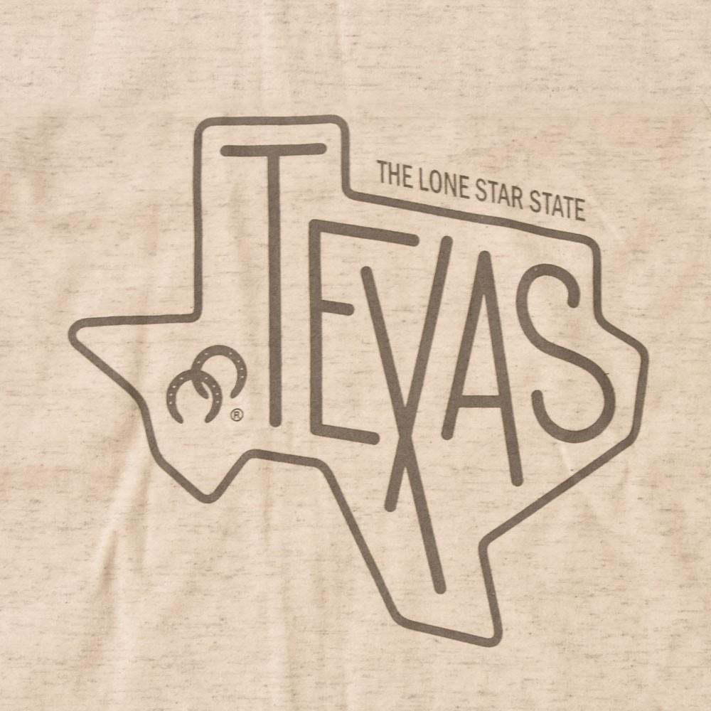 Camiseta Infantil Cowboys Bege Texas