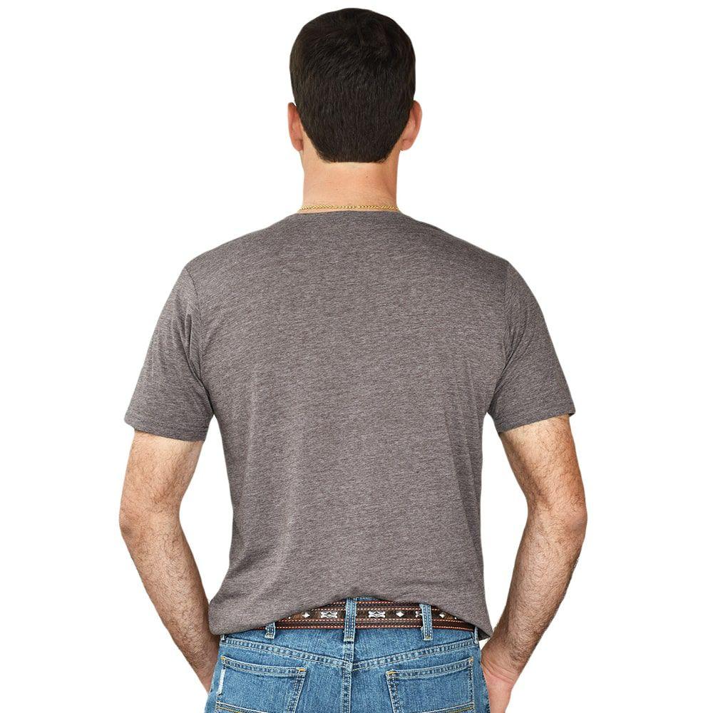 Camiseta Importada Marrom Team Roping