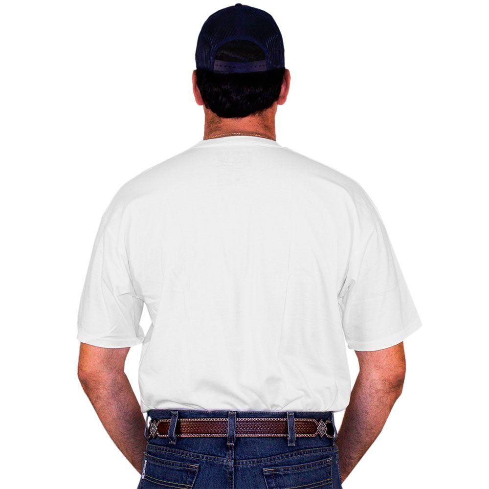 Camiseta Cinch Branca American