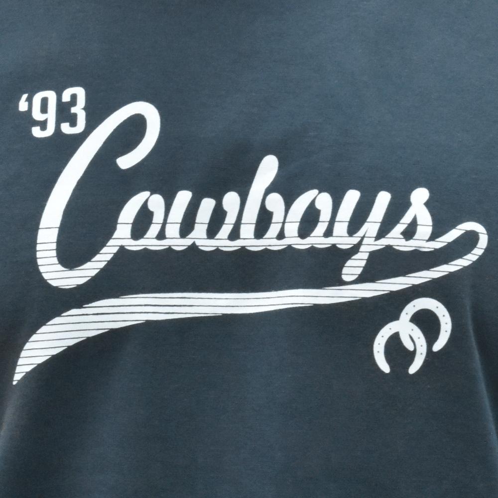 Camiseta Masculina Cowboys Grafite 1993 Ferraduras