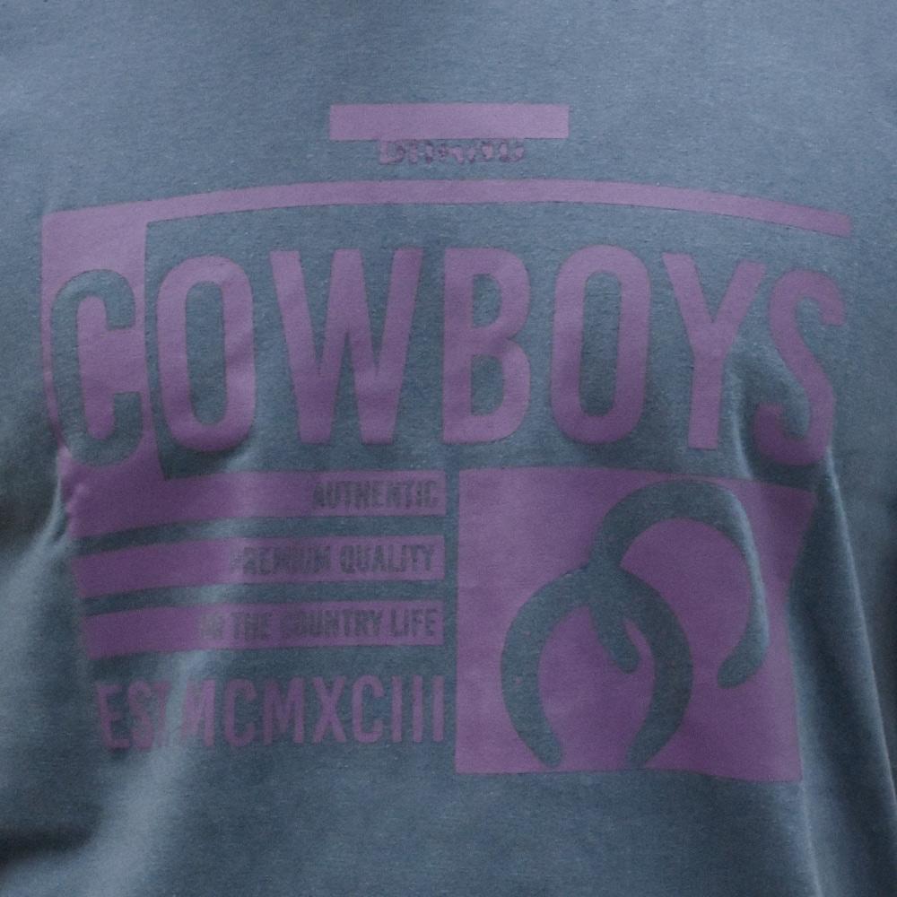 Camiseta Masculina Cowboys Grafite Authentic Quality