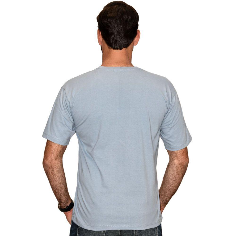 Camiseta Cowboys Lisa Azul Claro