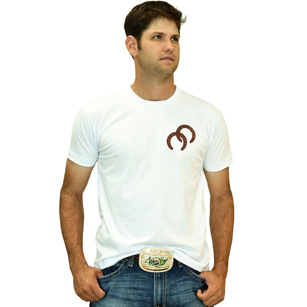 Camiseta Masculina White Cowboys