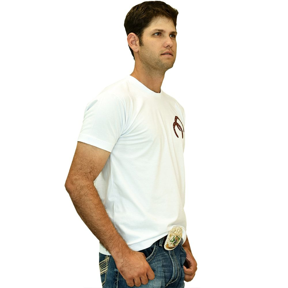 Camiseta Masculina White Cowboys