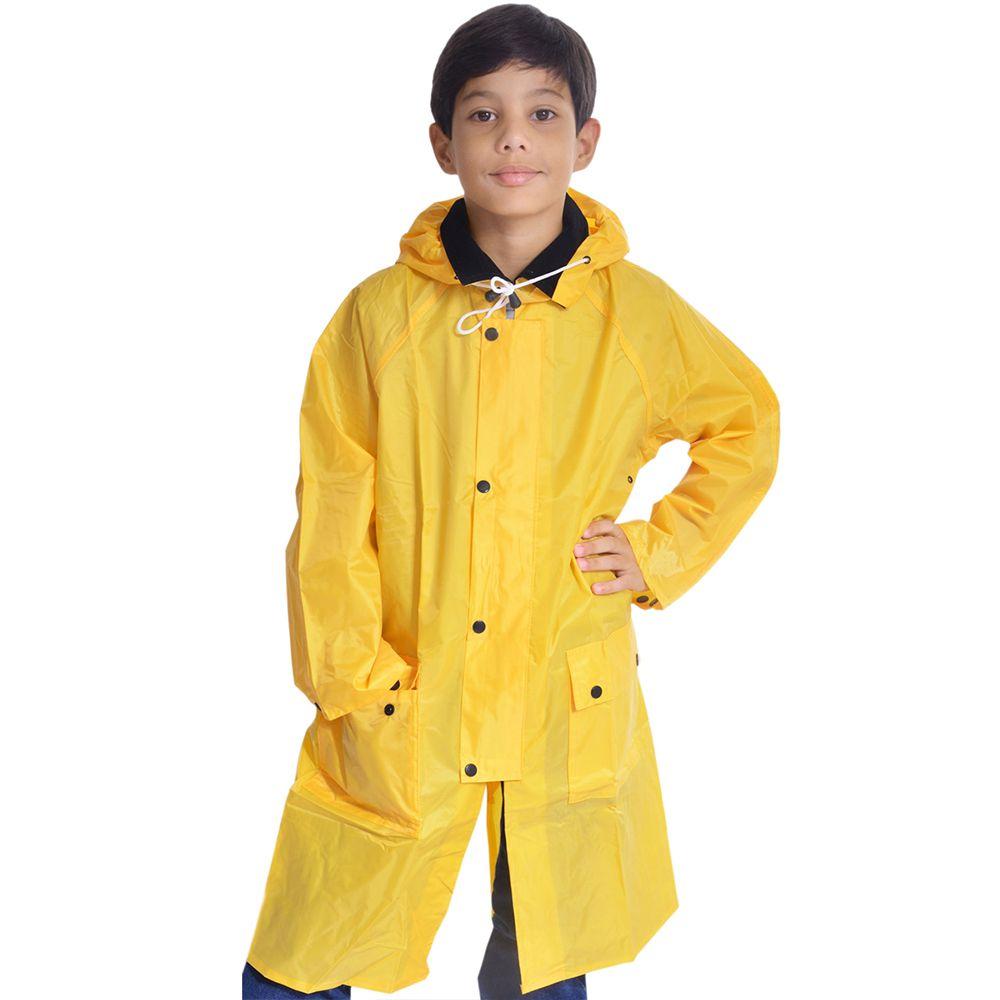 Capa de Chuva Infantil Importada em PVC Amarelo