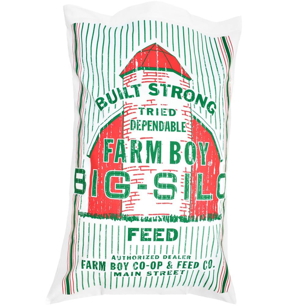 Capa Para Travesseiro Farm Boy Big Silo
