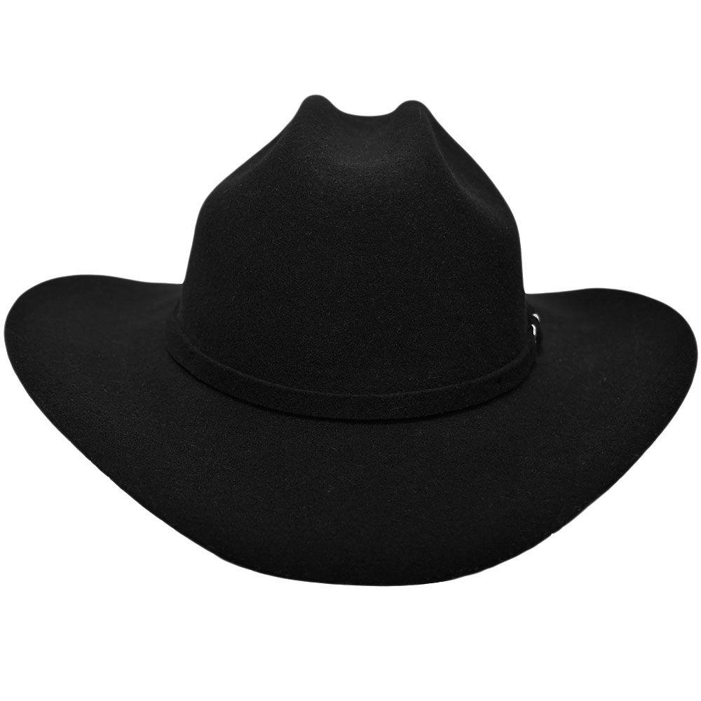 Chapéu de Feltro Pralana Infantil Arizona Preto