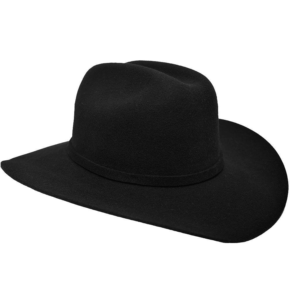Chapéu de Feltro Infantil Arizona Preto Pralana