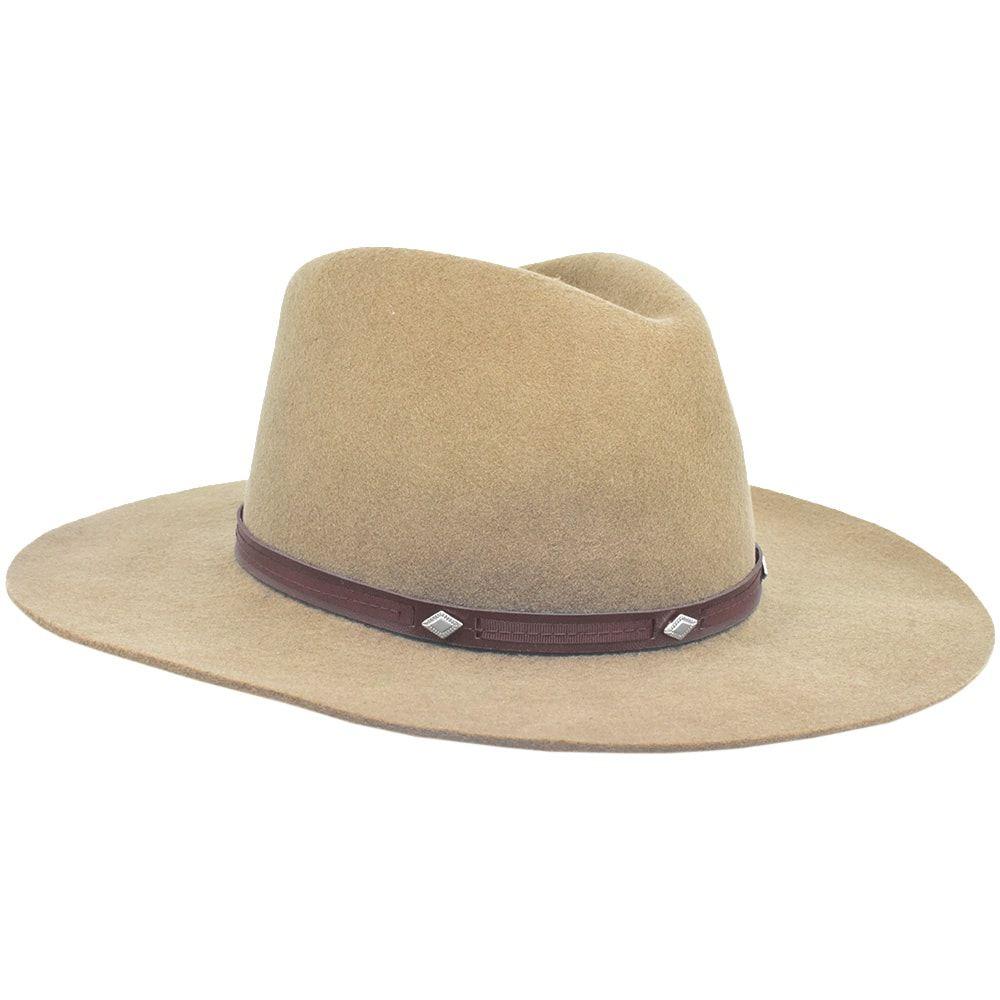 Chapéu de Feltro Marrom I. Jones