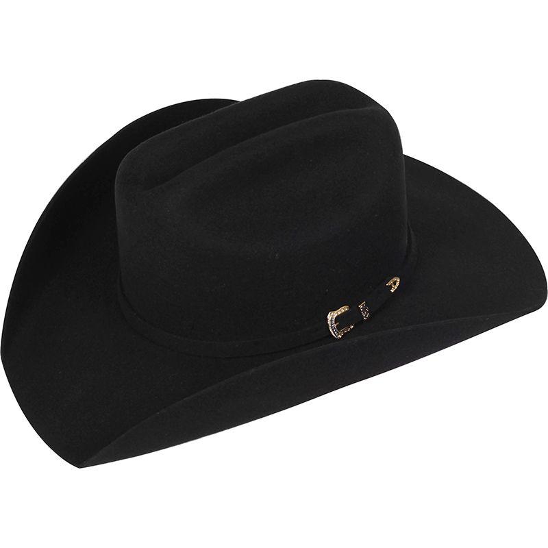 Chapéu Pralana de Feltro Arizona VI Preto - Loja Cowboys c44c7f58f25