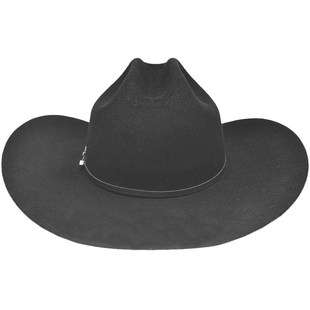 Chapéu de Feltro Resistol 4X Preto Sonora