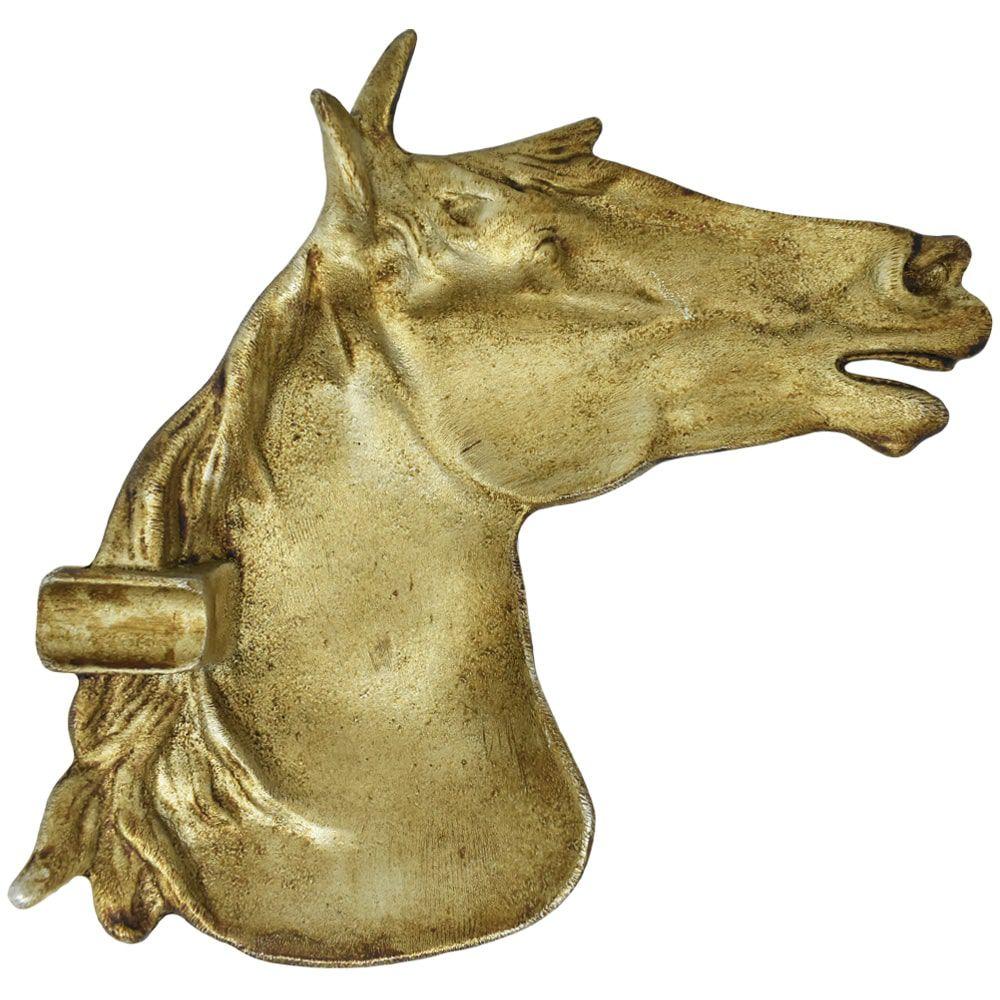 Cinzeiro de Alumínio Cabeça de Cavalo