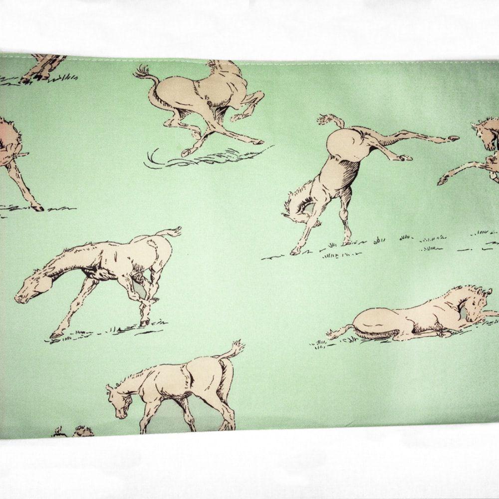 Conjunto de Lençol para Berço Jumping Horses