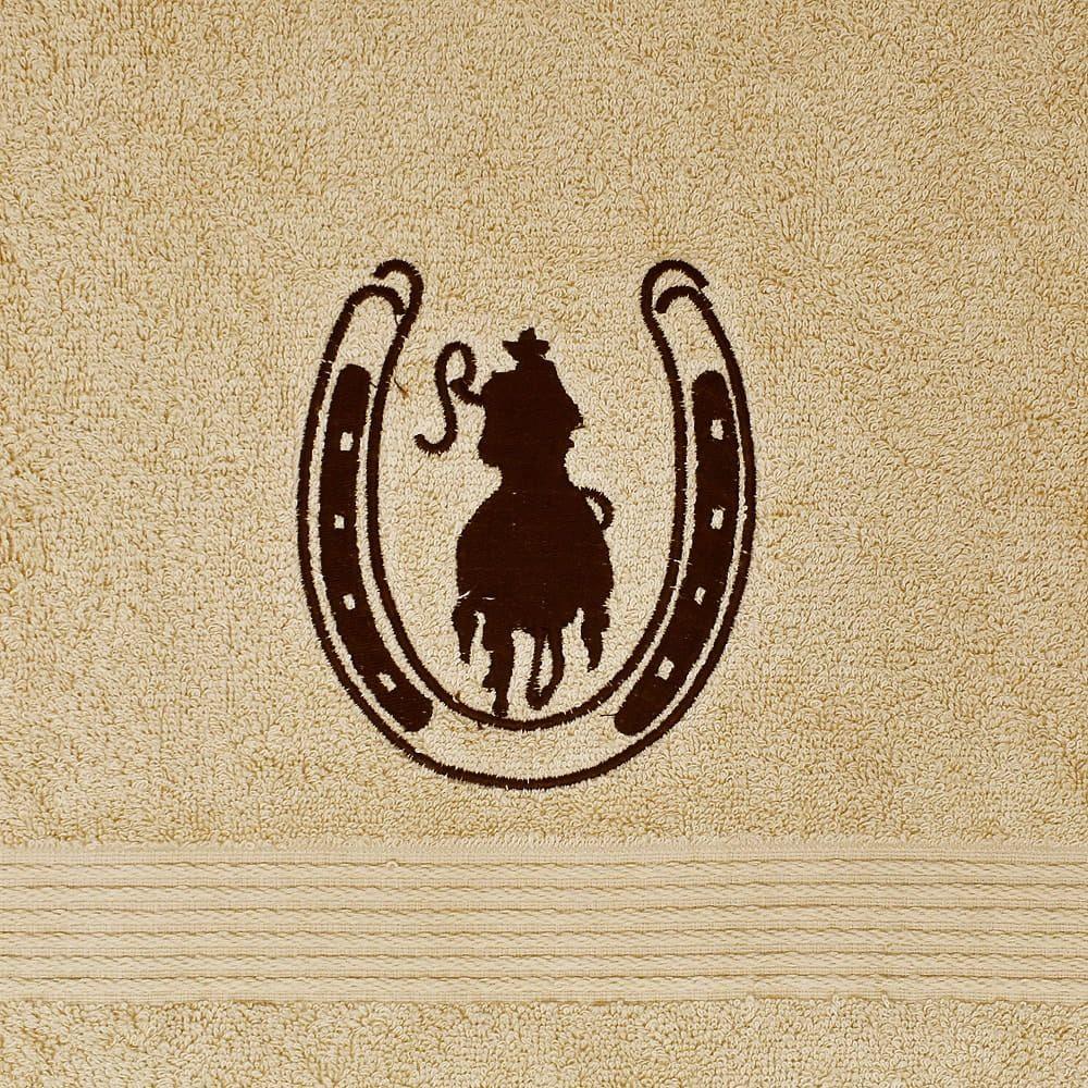 Conjunto de Toalha Cowboy Ferradura