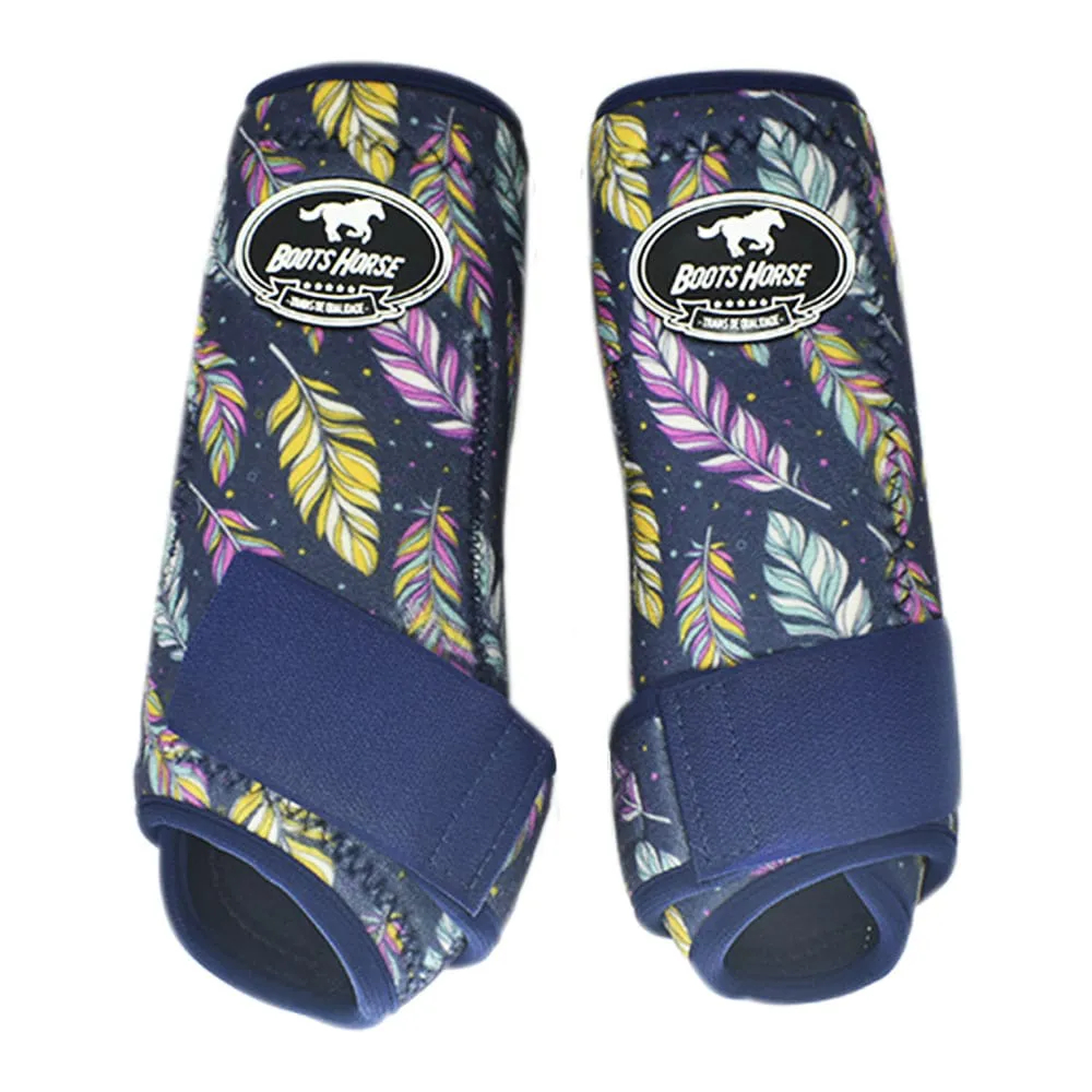 Conjunto Ventrix Boots Horse Azul Marinho Personalizado