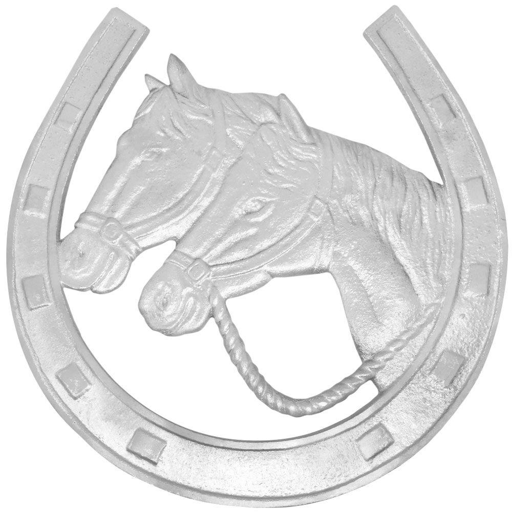 Descanso para Travessa Cowboys em Alumínio Ferradura