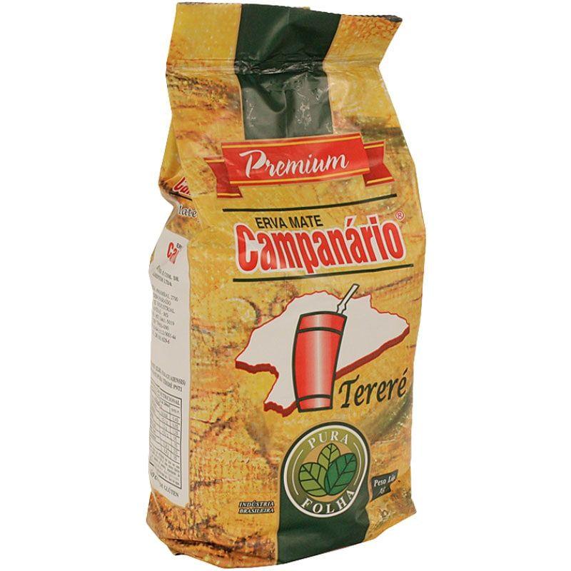 Erva Mate Campanário Premium Pura Folha 1kg