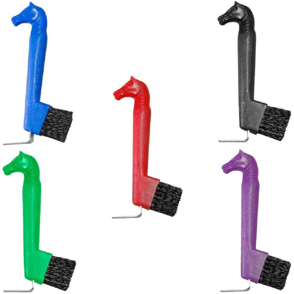Escova Para Limpeza De Casco Cabeça De Cavalo