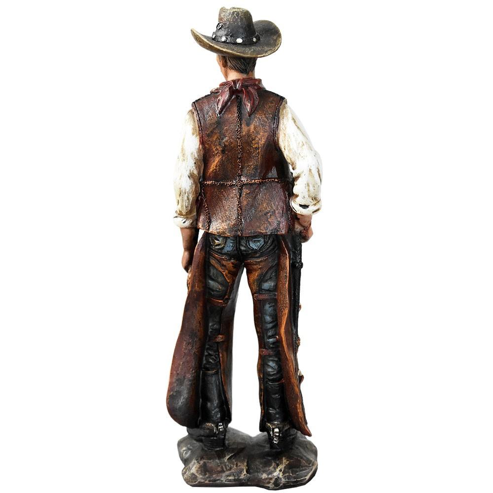 Estátua Cowboy Texano