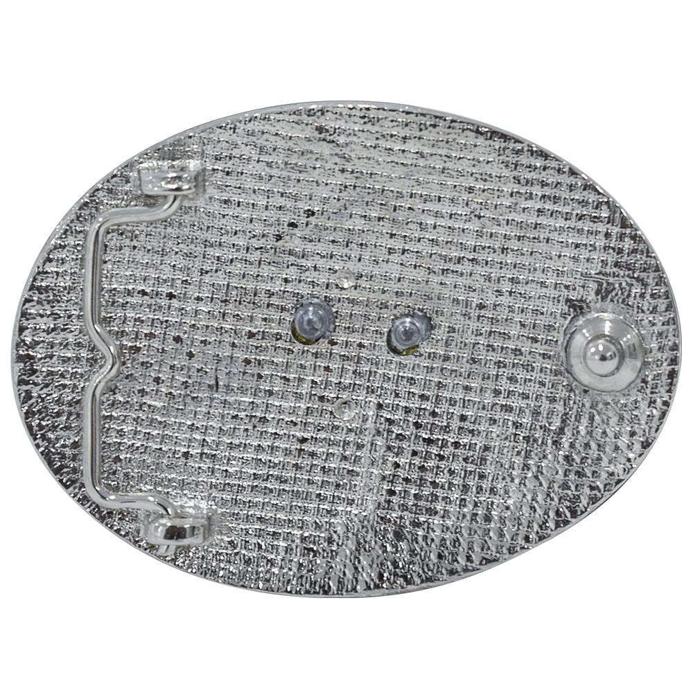 Fivela Pelegrini Boiadeira Cabeça de Boi Nelore