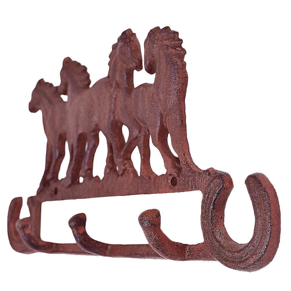 Gancho de Metal Triplo Importado 4 Cavalos
