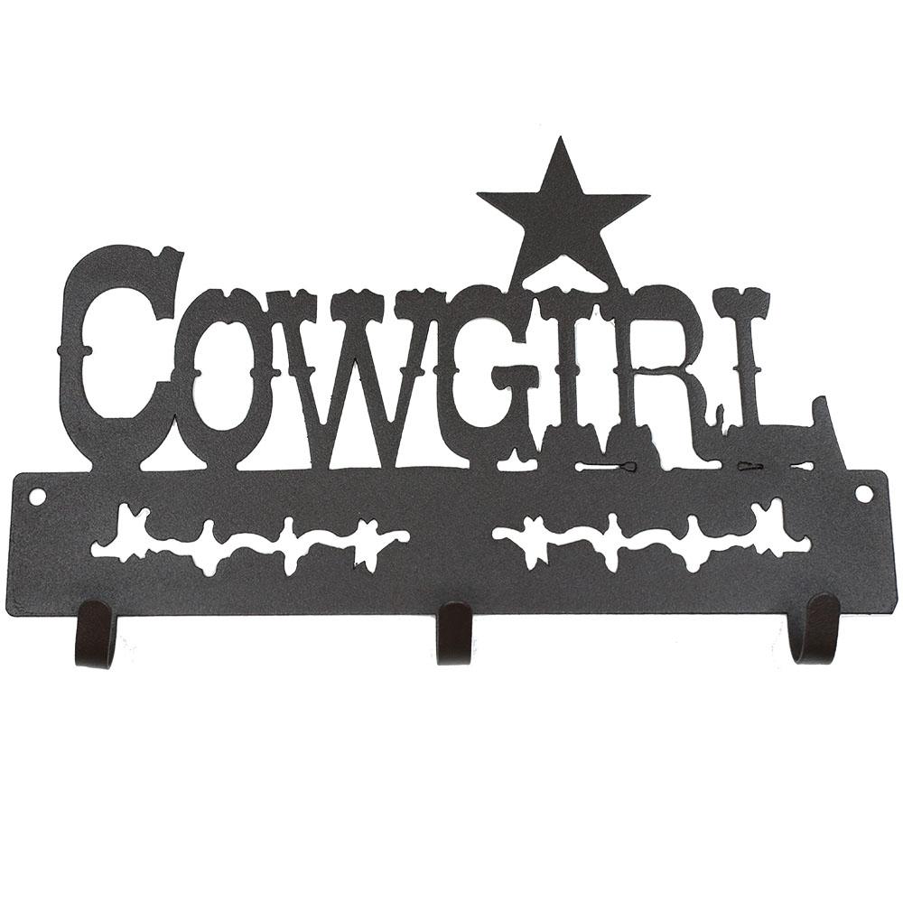 Gancho de Metal Triplo Importado Cowgirl