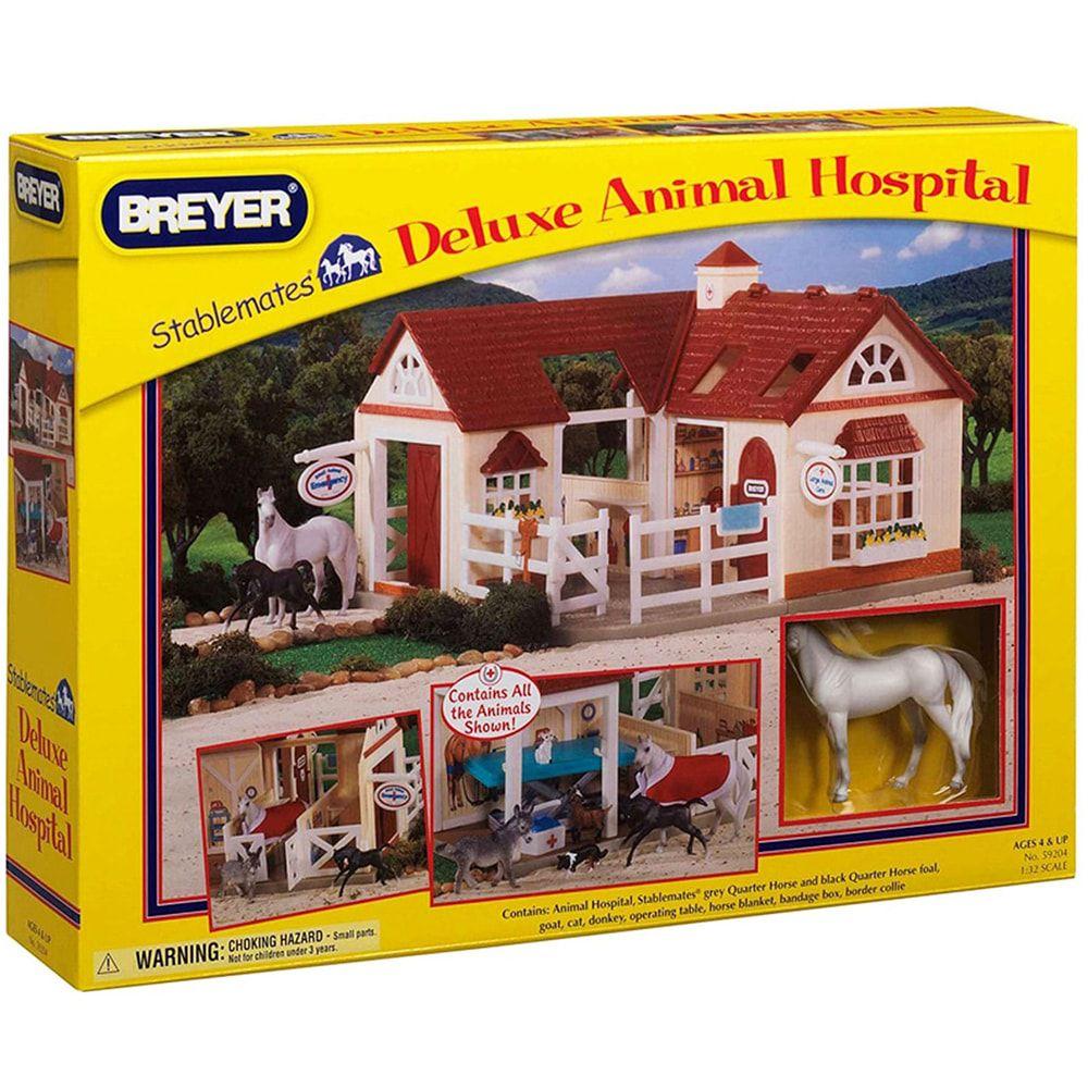 Brinquedo Breyer Hospital Veterinário de Luxo