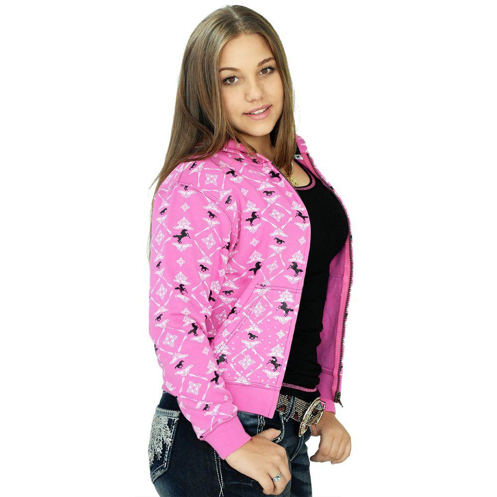 Moletom Feminina Juvenil Importada Rosa