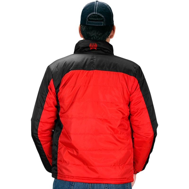 Jaqueta Masculina Cinch Preta e Vermelha